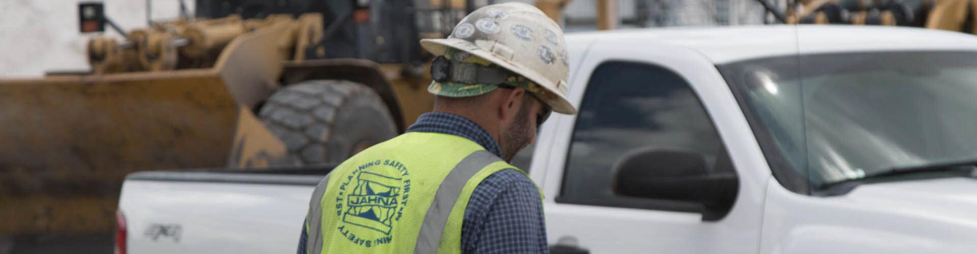 banner safety hard hat